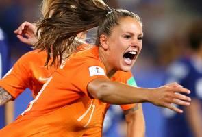 Piala Dunia Wanita: Belanda & Itali mara ke suku akhir
