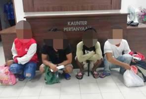 4 warga asing dicekup cuba masuk ke Malaysia