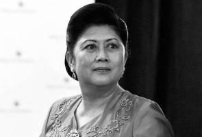 Bekas Wanita Pertama Indonesia meninggal dunia
