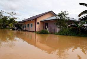 Mangsa banjir di Membakut terus meningkat, 100 mangsa dipindahkan
