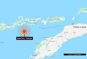 Gempa bumi sederhana gegar Rantau Timor, Indonesia