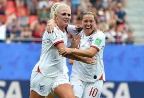 Piala Dunia Wanita: England dan Perancis mara ke suku akhir