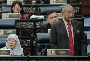Undi usul percaya tentukan tempoh khidmat Tun Mahathir