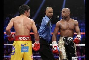 Floyd Mayweather umum 'rematch' dengan Manny Pacquiao