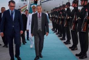 Tun M tiba di Ankara, mula lawatan rasmi empat hari ke Turki