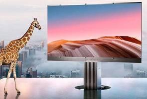 TV setinggi zirafah, skrin 301 inci dilancarkan 2020