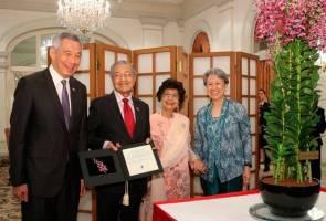 PM Singapura ucap selamat hari lahir kepada Tun M