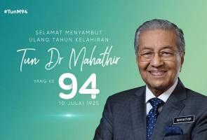 Tun M terharu, ucap terima kasih kepada rakyat Malaysia
