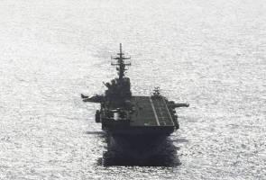 Kapal perang Amerika Syarikat tembak jatuh dron milik Iran - Trump
