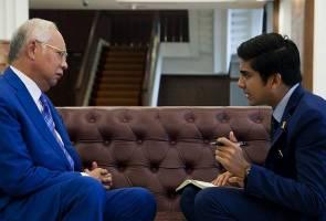 Apa agenda pertemuan Najib Razak, Syed Saddiq?