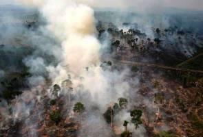 Hutan Amazon terbakar ekoran tindakan Presiden Bolsonaro utamakan pembangunan