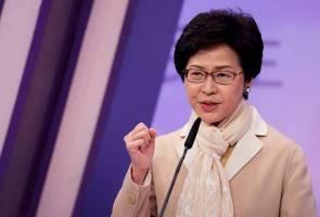 Rang Undang-Undang Ekstradisi Hong Kong sudah 'mati', ditarik balik - Carrie Lam