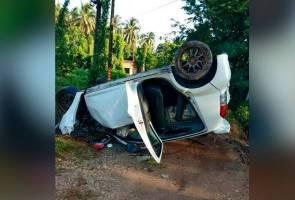 Suami isteri maut, janin terkeluar dalam nahas di Rantau Panjang