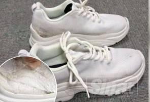 Tak sempat ke Busan, 'kantoi' sorok syabu dalam tapak kasut