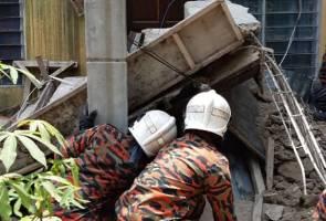 Tiga maut direnjat elektrik, cuba bantu wanita hamil dihempap tangga runtuh