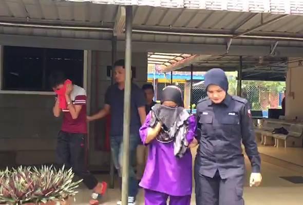 Seorang wanita dan anak lelakinya direman empat hari bagi membantu siasatan kes dera melibatkan seorang remaja perempuan OKU.