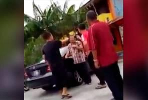 Penyerang guru sekolah serah diri kepada polis