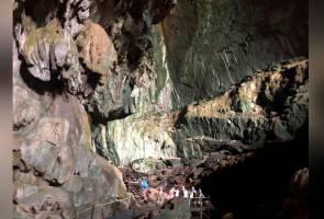 Kejadian luar biasa selepas 34 tahun Taman Negara Mulu beroperasi