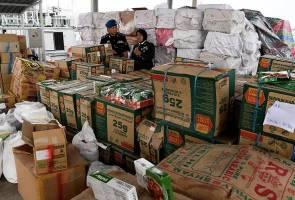 Polis marin patah cubaan seludup keluar barangan pertanian, rempah ratus