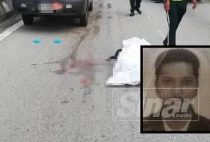 Penunggang motosikal maut diseret dalam nahas di lebuh raya