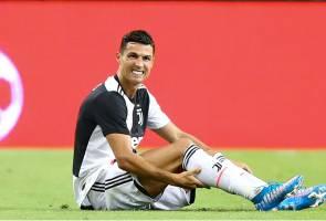 Ronaldo jadi penonton dalam persiapan terakhir Juventus
