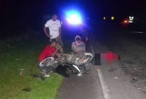 Remaja maut, rakan cedera motosikal dinaiki terlanggar kerbau