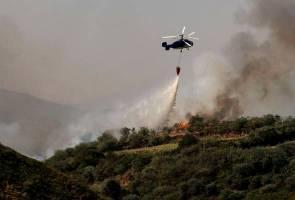 Kebakaran hutan: Angka perpindahan penduduk meningkat kepada 9,000