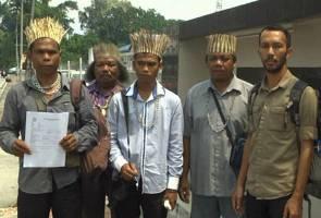 Orang Asli Pos Piah Sungai Siput ragui 'wang saguhati' syarikat pembalakan