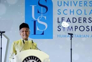 Integriti, cintakan ilmu ciri penting bentuk keperibadian pemimpin - Tun Mahathir