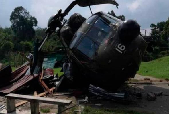 Nuri mendarat cemas, 11 anggota tentera selamat