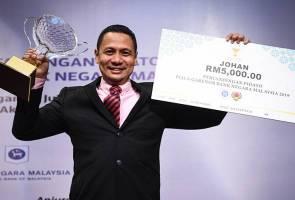 Empat tahun tewas akibat gugup, Mohd Arfaizal akhirnya muncul juara pidato