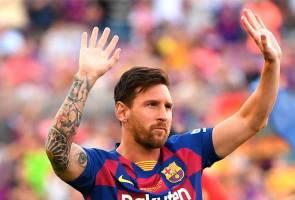 Messi cipta rekod, jaring gol ke-700