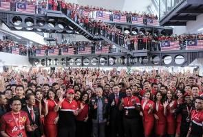 Jadikan Malaysia hab aeroangkasa - Tun Mahathir
