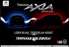 Perodua Axia 2019 dibuka untuk tempahan, harga bermula RM24,090