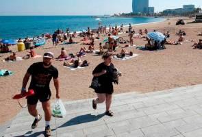 Bom ketika Perang Saudara Sepanyol dijumpai di perairan Barcelona