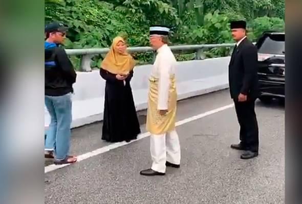 Yang di-Pertuan Agong sekali lagi bantu mangsa kemalangan