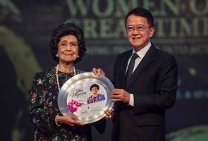 Dr Siti Hasmah dianugerah gelaran 'Ibu Negara'