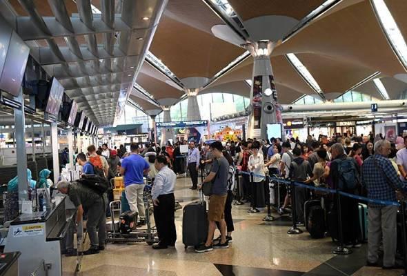 Tahun Baharu Cina: Aliran penumpang dijangka meningkat di KLIA, KLIA2 - MAHB