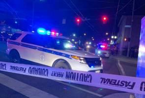 Sembilan maut dalam tragedi tembakan besar-besaran kedua di Amerika Syarikat hari ini