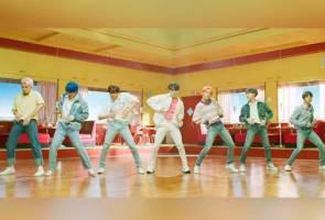 Video muzik 'Boy With Luv' BTS cecah 500 juta tontonan!