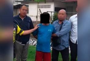 Suspek khianat surau ditahan