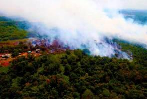 Dua sekolah di Gelang Patah dinasihat terus tutup sehingga kebakaran hutan pulih