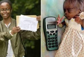 Tuah bayi bersaiz telefon bimbit!