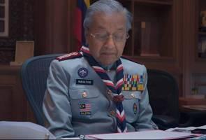 Tun M deklamasi puisi sempena kempen Hari Kebangsaan dan Hari Malaysia