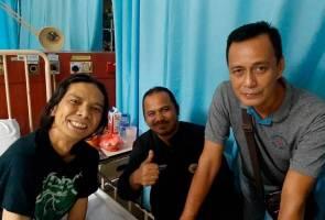 'Terlalu sakit macam patah, tak dapat bergerak' - Mael XPDC dikejar ke hospital