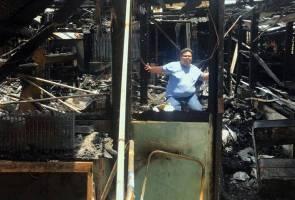 Luluh hati mangsa ribut, rumah pula musnah terbakar
