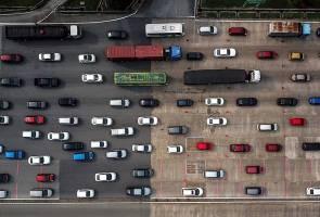 Aidiladha: Kesesakan lebih 9 jam dari Kuala Lumpur ke Taiping - Pemandu