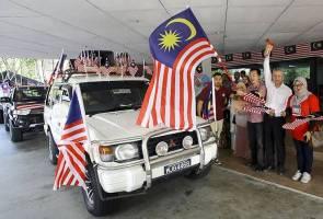 20 buah kenderaan sertai konvoi Kembara Merdeka daerah Seremban