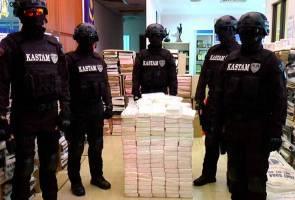 RM676 juta dadah dirampas, Malaysia terus jadi transit pengedaran dadah dunia - Kastam Malaysia