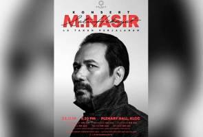 M. Nasir rai ulang tahun ke-40 dengan konsert berskala besar